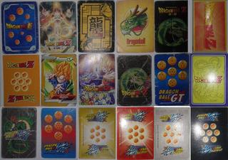 Lote De 86 Cartas Variadas De Dragon Ball Z