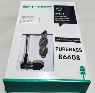 Auricular In Ear Efftec 86608 Economico En Almagro!