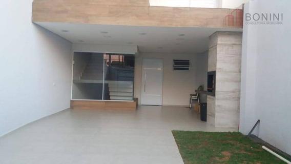 Casa 3 Dormitórios À Venda, Parque Residencial Jaguari - Americana/sp - Ca0434