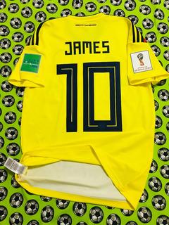 Jersey Camiseta adidas Seleccion Colombia Mundial 2018 James