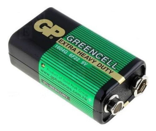 Bateria 9v X 2u.