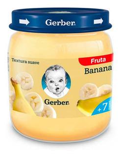 Gerber Pure De Banana Para Bebes 113 Gr