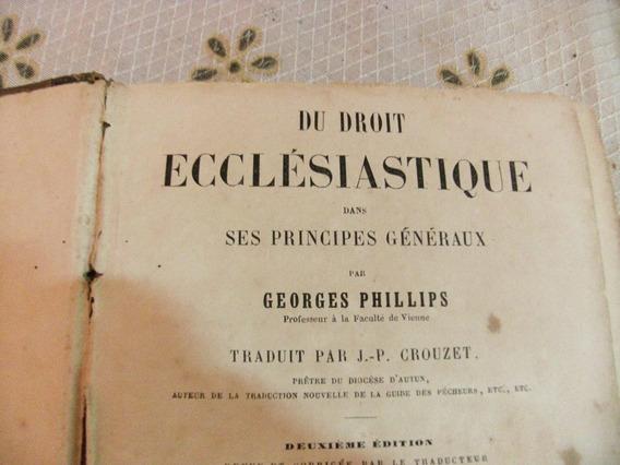 Antigo E Raro Livro De 1855 Eclesiastes Em Frances