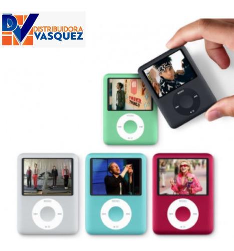 Reproductor Multimedia Mp4 Player Hi Fi Incluye Audífonos