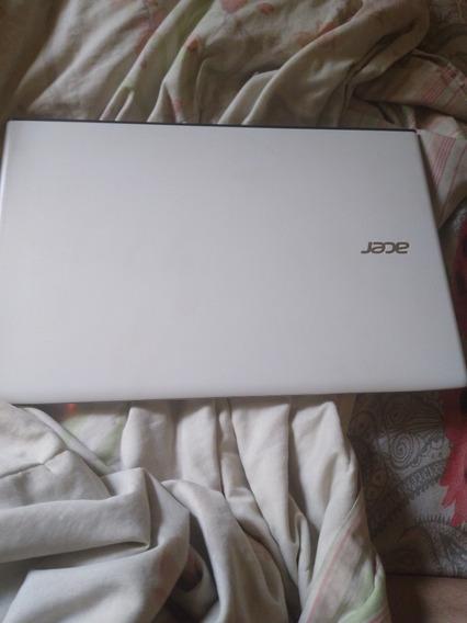 Notebook Acer Branco Semi Novo Melhor Preço Do Ml !!!