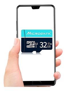 Cartão Memória Micro Sd Microdata 32 Gb Classe 10 + Veloz