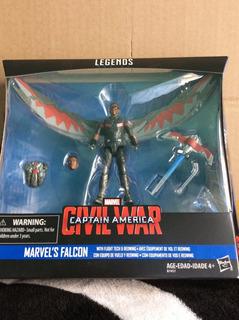 Marvel Legends Falcon Serie Civil War