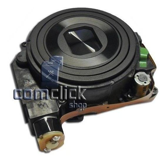 Bloco Ótico Preto Câmera Digital Samsung Es28 Es68 Es74 Es75