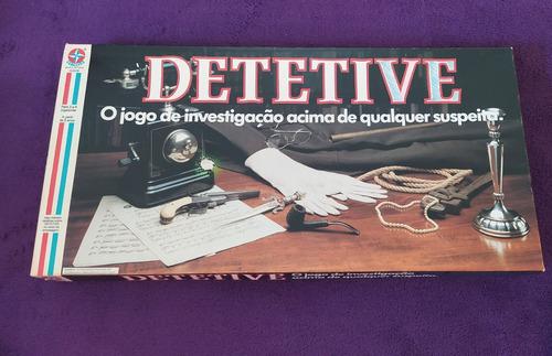 Jogo Detetive - Estrela - Anos 80