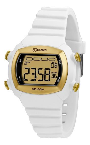 Relógio X-games Unissex Digital Xlppd054 Cxbx Branco