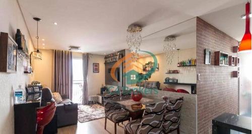 Apartamento Com 3 Dormitórios À Venda, 63 M² Por R$ 370.000,00 - Vila Augusta - Guarulhos/sp - Ap3552