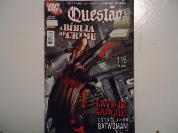 Marvel Questão A Bíblia Do Crime Livro De Sangue Estrelando.
