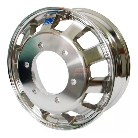Roda Caminhão 17,5 X 6,0 Alumínio Speedline 3/4 + Brindes
