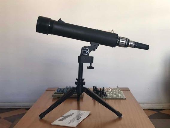Telescópio Tasco 17eb Zoom 60x Usado Em Bom Estado