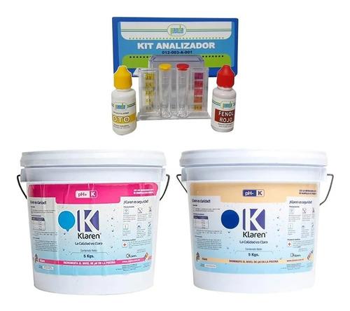 Kit Analizador + Ph + Y Ph - De 5 Kg