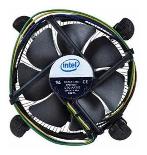 Fan Cooler Procesador Cpu Socket Series 775 Intel Con Pasta