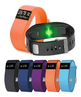 Smartwatch Tw68 Bluetooth Monitor Ritmo Cardiaco Calorias