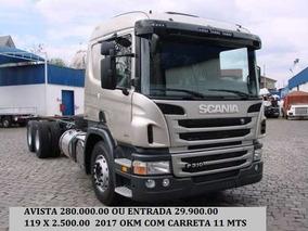 P310 Truck 2017 Okm Com Carreta Ls 11.00 Mts