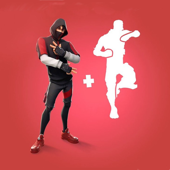 Skin Ikonik S10 + Dança/ps4/xone/pc/android
