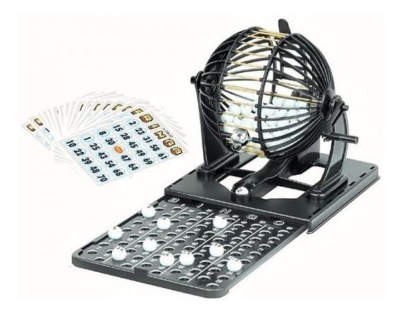 Juego Bingo Familiar Salón Mesa Entretenimiento Balotas 208