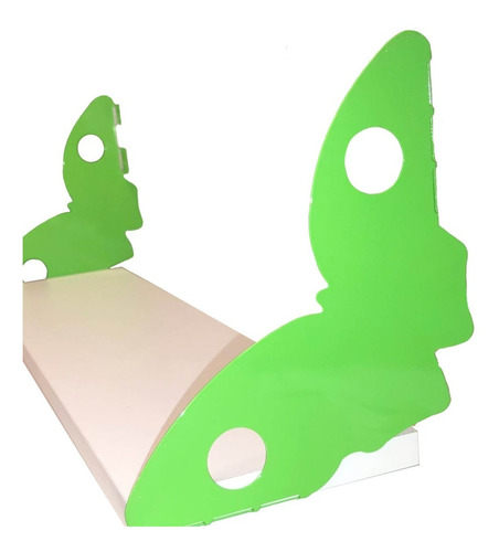 Mensulas Con Diseño Para Niños + Estante De Regalo! Mariposa