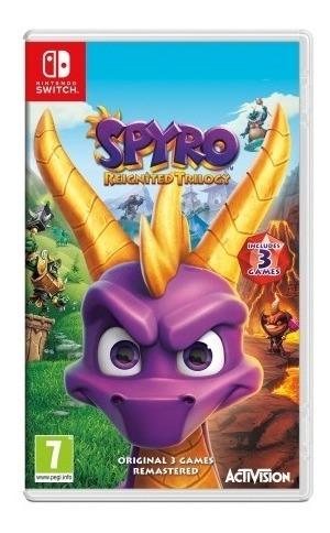 Spyro Reignited Trilogy Switch Lacrado