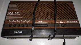 Rádio Relógio Casio Nv-2785 Usado