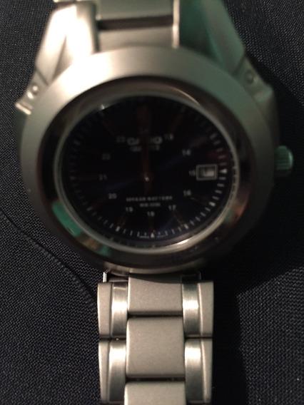 Reloj Casio Plateado Hombre