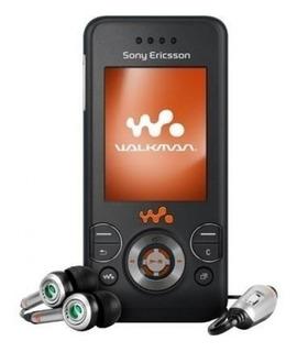 Celular Sony Ericsson W580i Walkman Black Camera 2.0 Fm