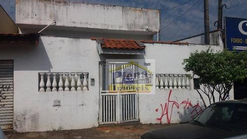 Salão Comercial Para Locação, Jardim Alvorada, Sumaré. - Sl0577