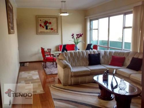 Imagem 1 de 19 de Imob01 - Apartamento 124 M² - Venda - 3 Dormitórios - 1 Suíte - Jardim Do Mar - São Bernardo Do Campo/sp - Ap2324