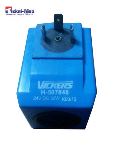 Bobina Vickers Pn507848 24vcc 30w 24mm Diametro