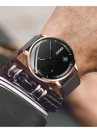 Relógio Pulso - Dom - 40mm - Calendário