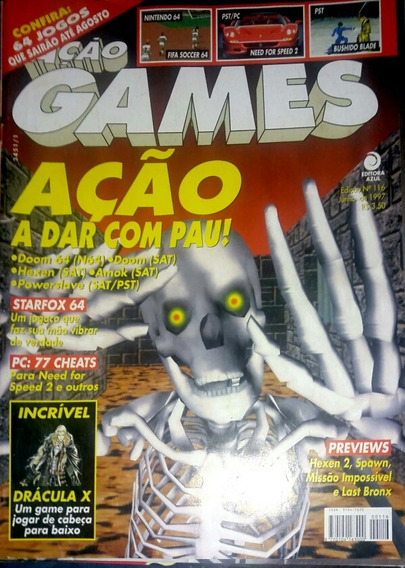 Revista Ação Games N° 116
