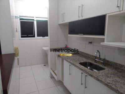 Apartamento Com 2 Dormitórios Para Alugar, 64 M² Por R$ 1.700/mês - Barcelona - São Caetano Do Sul/sp - Ap2118