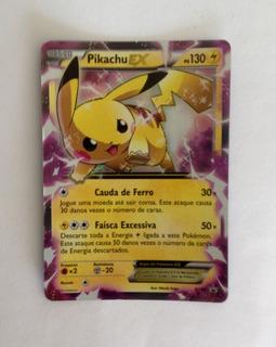 Card Pokémon Pikachu Ex Xy84