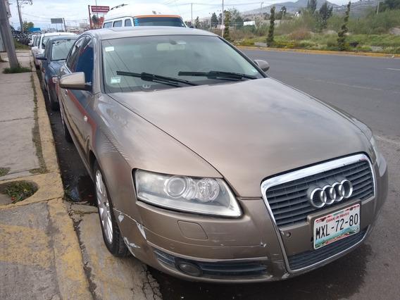 Audi A6 3.2 Piel, Quemacocos $49,000 Eng Resto Credito Facil