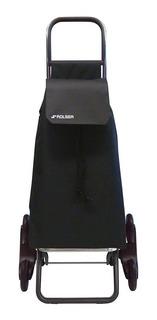 Carrito O Carro Para Mandado Negro Sube Escaleras Rolser