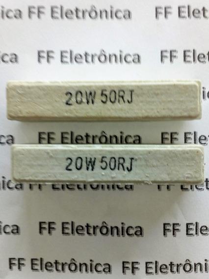 Resistor De Cimento 20w 50r
