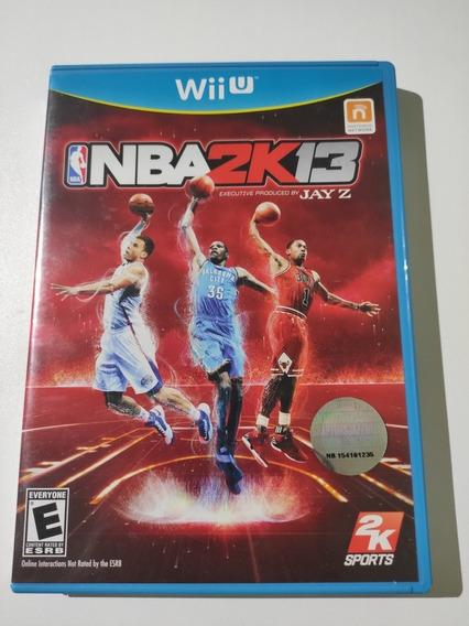 Nba 2k13 Americano Mídia Física Wii U