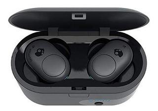 Auricular Skullcandy Bluetooth True Push Tws Dark/black Grey