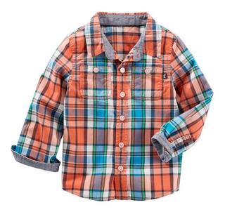 Carters Camisa Manga Larga Talle 24 Meses