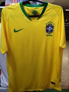 Camisa Brasil Amarela Copa 2018 Novas A Pronta Entrega