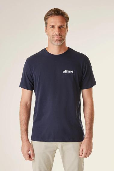 Camiseta Estampada Pf Offline Vj Reserva