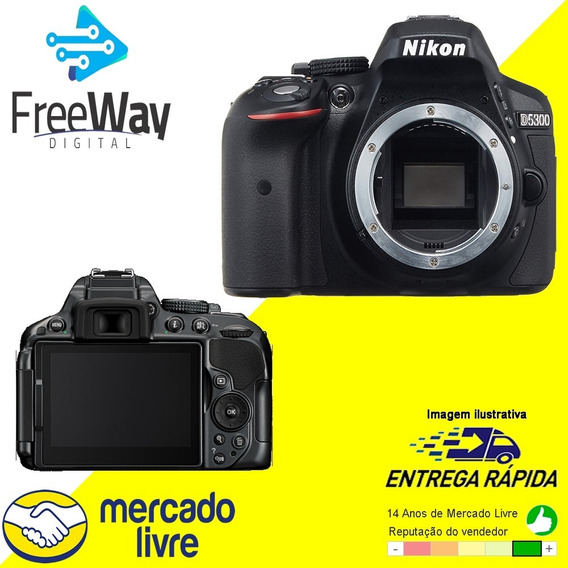 Câmera Nikon D5300 (somente Corpo) + Nfe + Oem