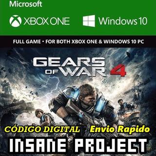 Gears Of War 4 Xbox One Código Meses Sin Intereses!