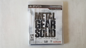 Metal Gear Solid The Legacy Collection- Ps3 - Original