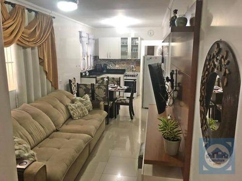 Casa Com 2 Dormitórios À Venda, 124 M² Por R$ 232.000,00 - Cidade Naútica - São Vicente/sp - Ca1134
