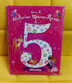 Livro De Historia Maravilhosas De 5 Minutos