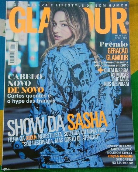 Revista Glamour Nº 60 Show Da Sasha - Março 2017